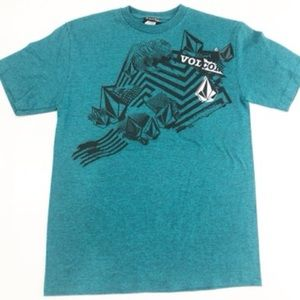 Volcom Stone Boys T Shirt Size Medium